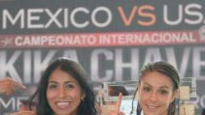 """""""Kika"""" Chávez y McMorrow están listas para combate titular (Foto:Promoci..."""