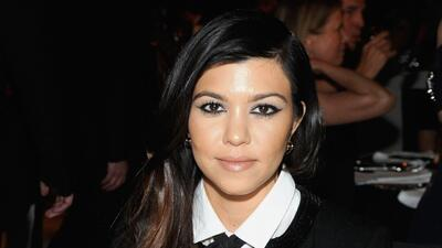 Kourtney Kardashian no esperaba embarazarse