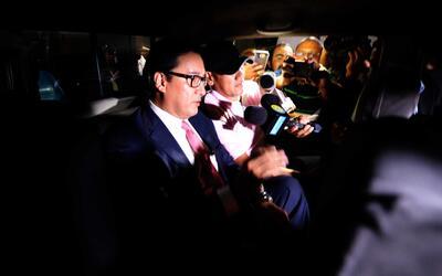 El exfiscal general Luis Martínez fue detenido esta semana en San Salva...