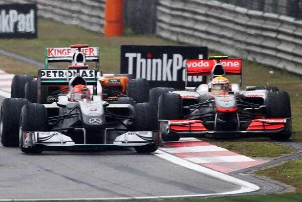 Las condiciones de la pista hicieron que todos los pilotos tuvieran inci...
