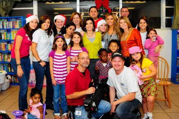 La jueza y el equipo de Veredicto Final llevaron alegría al Miami Rescue...