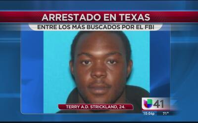 Arrestan a uno de los fugitivos más buscados por el FBI en El Paso