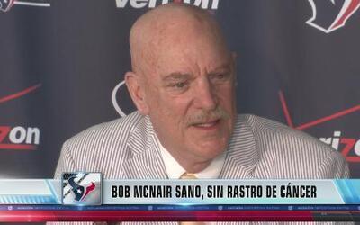 El dueño de los Texans se recuperó de cáncer