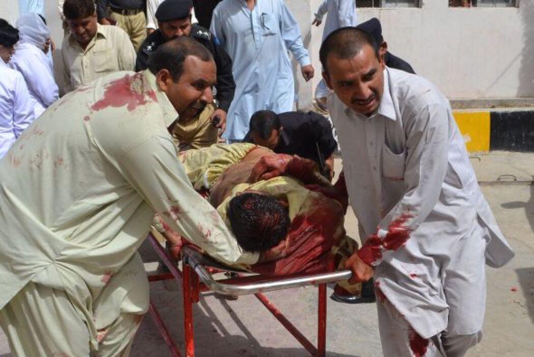 Al menos 38 personas murieron y más de cincuenta resultaron heridas el j...