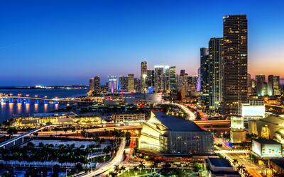 El downtown de Miami, está creciendo a una velocidad vertiginosa.