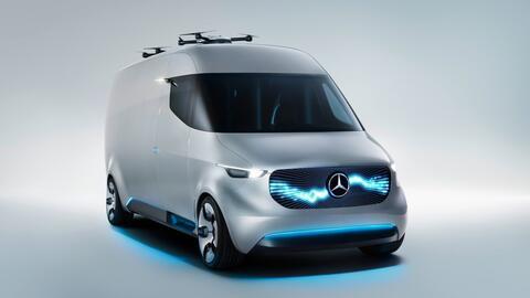 La Mercedes-Benz Vision Van muestra que el futuro del reparto es limpio...
