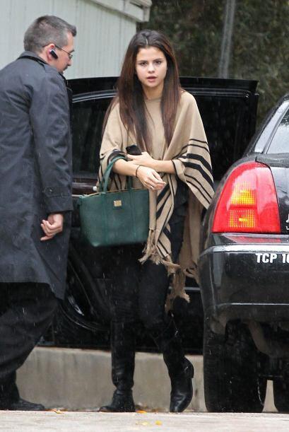 De plano agarramos en el peor momento a Selena Gomez, a quien de seguro...