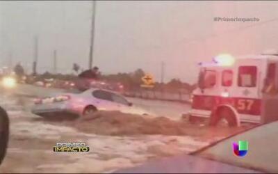 Severas inundaciones fueron captadas en las Imágenes de Impacto