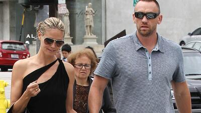 Heidi Klum terminó con su guardaespaldas