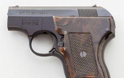 Pistola calibre .22 que Ashley C. Castañeda tenía escondida en la vagina