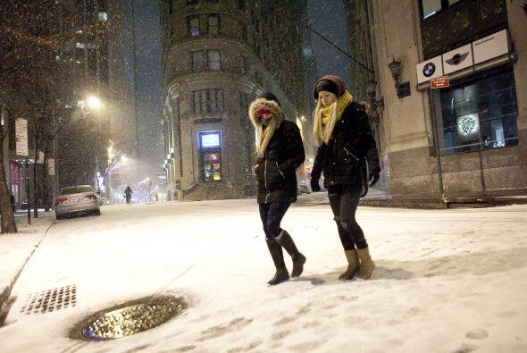 En algunos estados se esperan temperaturas de -2 grados Farenheit.