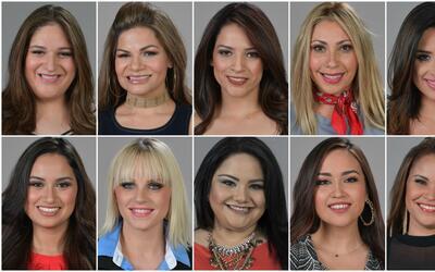 Las 10 finalistas de La Reina de la Canción.