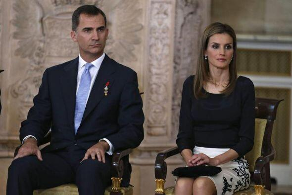 Los Príncipes de Asturias, Felipe y Letizia.