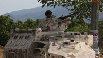 El gobierno mexicano ha desplegado militares en distintos puntos del paí...