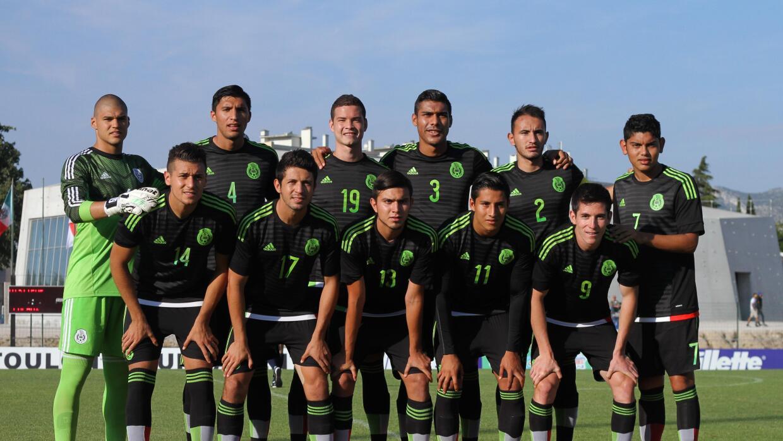 México Sub 22 en el Torneo en el Torneo Esperanzas de Toulon.