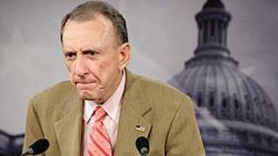 Arlen Specter era uno de los pilares del bloque republicano en el Congre...
