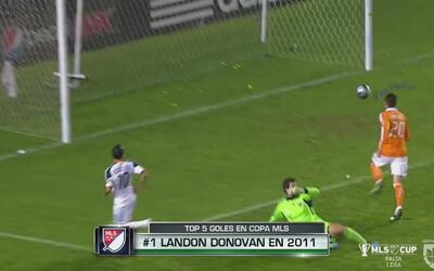 Los 5 mejores goles en la historia de las finales de la MLS