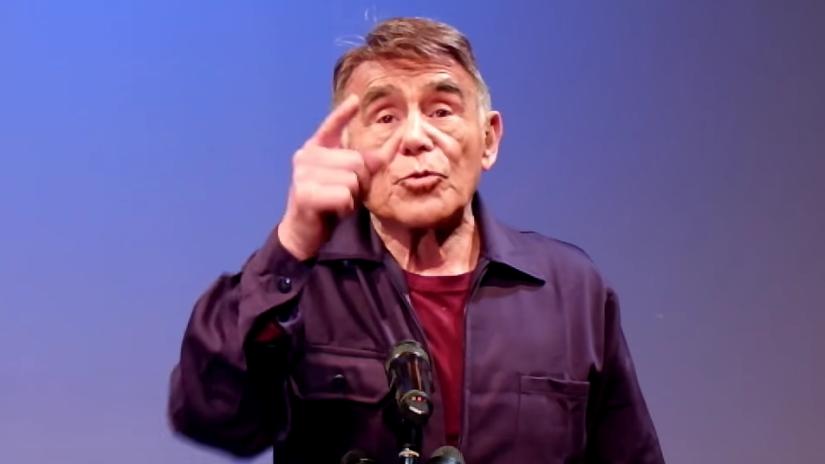 Héctor Suárez, de 78 años, publicó su video...