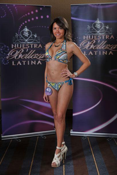 Ricellys Betances tiene 26 años, es modelo y originaria de República Dom...
