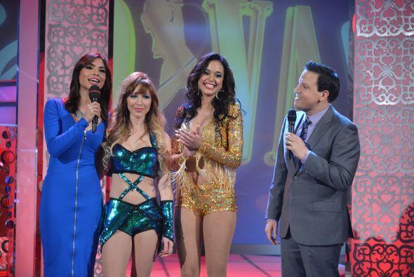 Alejandra felicitó y mostró su simpatía por Tatiana...