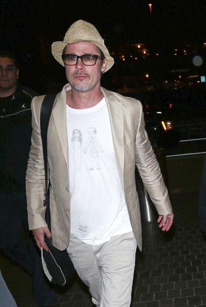El talentoso actor y ahora productor Brad Pitt, no podría estar m...