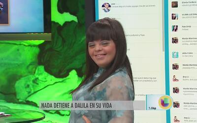 """Dalila envía importante mensaje: """"Echa pa'lante tú puedes"""""""