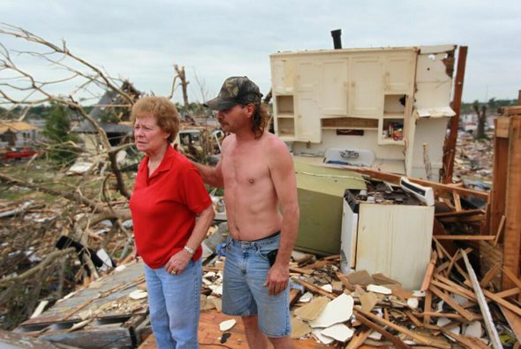 Esta familia perdió su vivienda y ya comenzaron a solicitar ayuda federa...