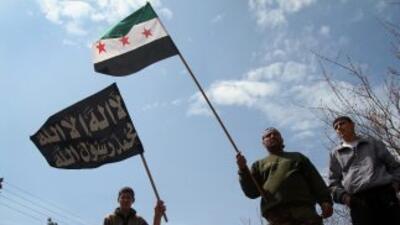El rebelde Ejército Libre Sirio (ELS) denunció que las fuerzas del régim...