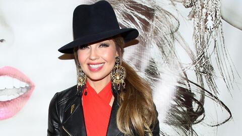 Thalía pasó la prueba de 'Los detectives de la moda'