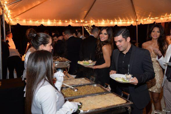 La cena estuvo deliciosa, Ale y Anibal pueden constatarlo.