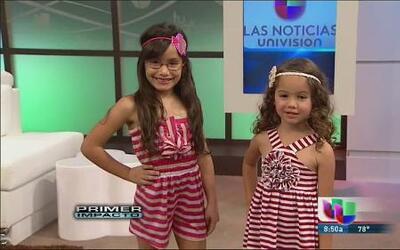 Bárbara Bermudo muestra su colección 'Cami' en Univision Puerto Rico