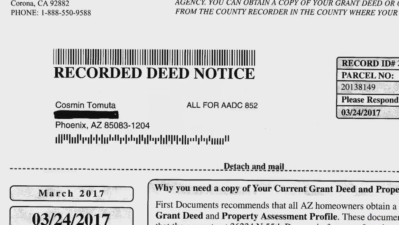 Alertan sobre estafa donde piden dinero por el título de propiedad de su...