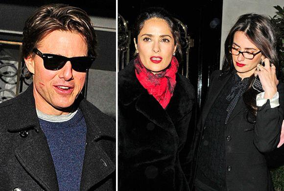 ¡Pillinas! ¿De quién es ese beso Tom Cruise?