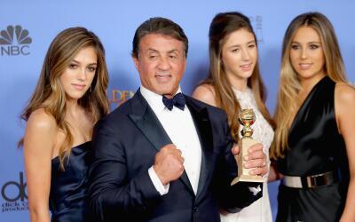 Sylvester Stallone y sus hijas