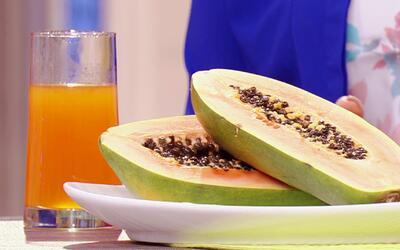 El Dr. Rivera puso a prueba este Santo Remedio de jugo de papaya para la...