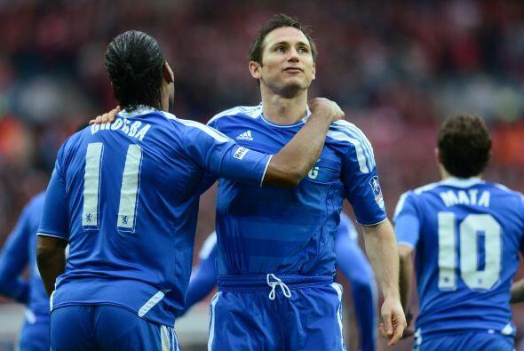Chelsea festejaba un 2  a 0 que parecía definitivo.