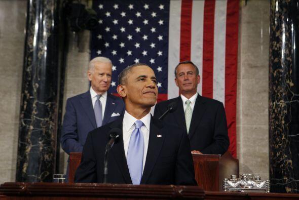 Y los protagonistas silenciosos de este discurso fueron el vicepresident...