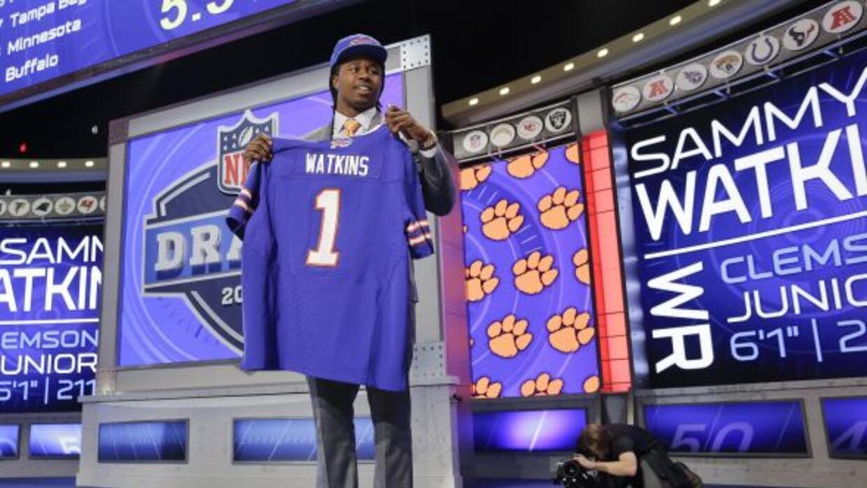 Sammy Watkins será el receptor estelar de los Bills (AP-NFL).