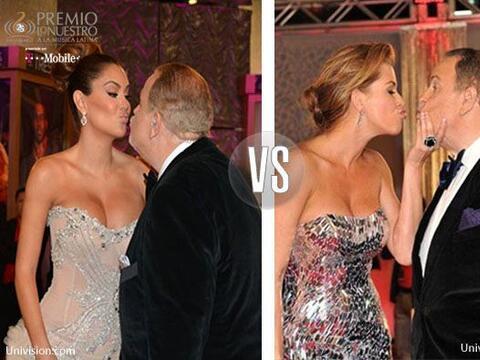 Ninel Conde vs. Alicia Machado. ¿Quién besó mejor al Gordo?...