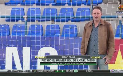 Óscar Rojas, el arquero al que Messi le convirtió el primer gol de su ca...