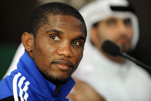 SAMUEL ETO'O- El camerunés ganó en un año 23.3 millones de euros (más de...