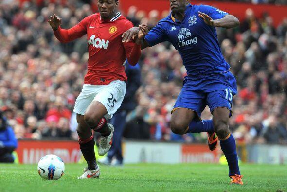 A pesar de que el United quiso controlar la pelota para manejar el resul...