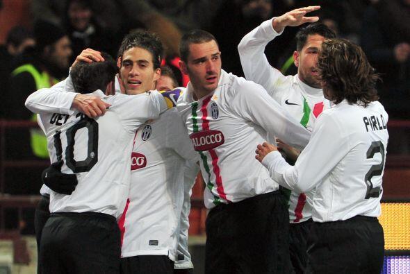 Y la 'Juve' festejó en la primera semifinal.