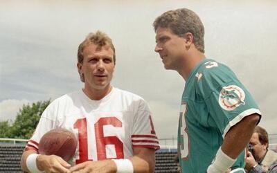 Estas dos leyendas se verán las caras en el adiós del Candlestick Park (...