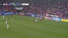 Uyy!! Casi gol. Bryan Ruiz patea y da en el arco