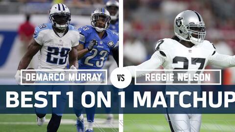 ¿La defensa de Raiders podrá contener a la ofensiva terrestre de los Tit...