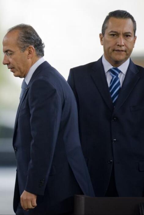 FRANCISCO BLAKE.  Siendo ministro de Interior de Felipe Calderón, el fun...