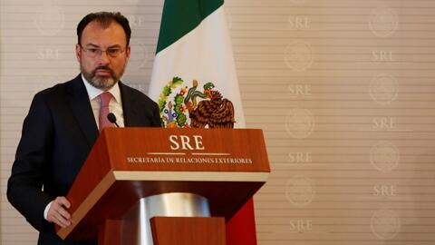 Luis Videgaray dice que México acudirá a la ONU para defender los derech...