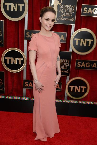 Otra estrella de 'Orange is the New Black', Taryn Manning, de rosita cursi.
