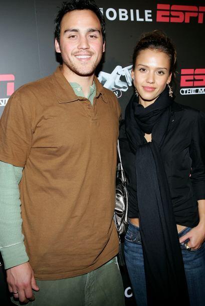 Joshua y Jessica Alba. La súper estrella de Fantastic 4 tiene un hermano...
